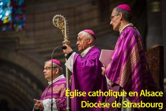 Église catholique en Alsace - diocèse de Strasbourg